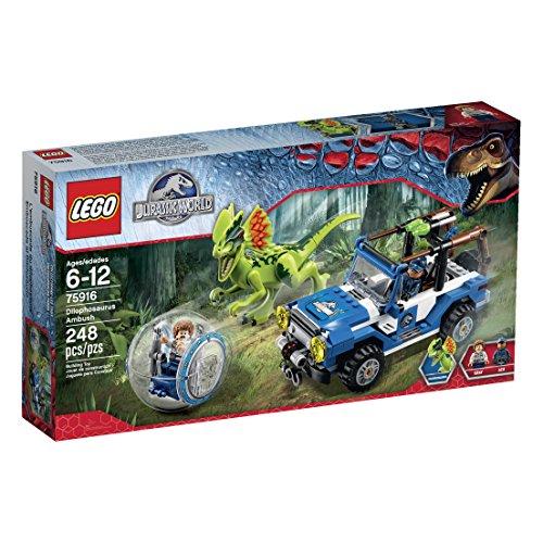 【送料無料】レゴ LEGO 75916 ジュラシックワールド ディロフォサウルスの奇襲