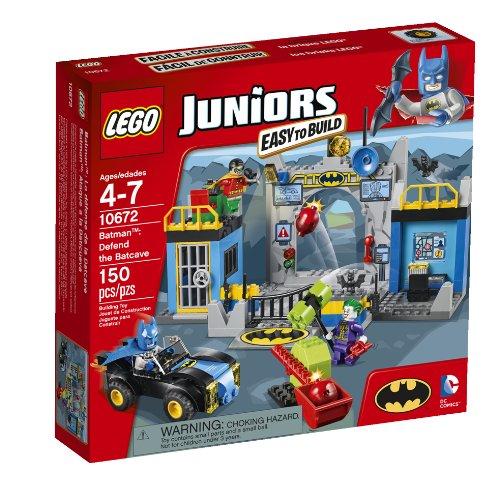 レゴ スーパーヒーローズ マーベル DCコミックス スーパーヒーローガールズ 6061890 【送料無料】LEGO Juniors 10672 Batman: Defend the Bat Caveレゴ スーパーヒーローズ マーベル DCコミックス スーパーヒーローガールズ 6061890