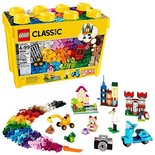 レゴ 6102215 【送料無料】LEGO Classic Large Creative Brick Box 10698 Build Your Own Creative Toys, Kids Building Kit (790 Pieces)レゴ 6102215