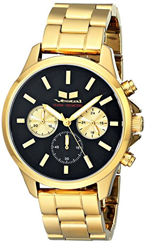 ベスタル ヴェスタル 腕時計 メンズ HEI3CM01 【送料無料】Vestal Unisex HEI3CM01 Heirloom Chrono Analog Display Analog Quartz Gold Watchベスタル ヴェスタル 腕時計 メンズ HEI3CM01