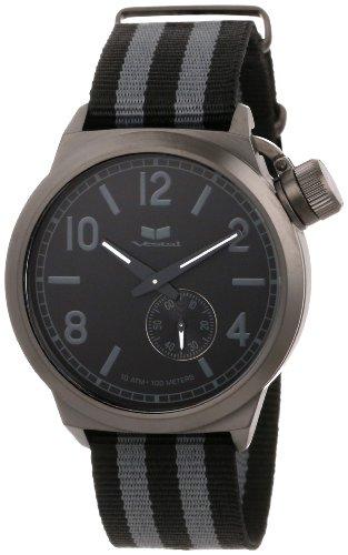 ベスタル ヴェスタル 腕時計 メンズ CAN3N02 Vestal Unisex CAN3N02 Canteen Zulu Grey Stripes Gun Watchベスタル ヴェスタル 腕時計 メンズ CAN3N02