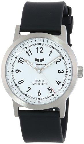 ベスタル ヴェスタル 腕時計 メンズ ABR3P04 Vestal Unisex ABR3P04 Alpha Bravo Rubber Black Silver White Watchベスタル ヴェスタル 腕時計 メンズ ABR3P04