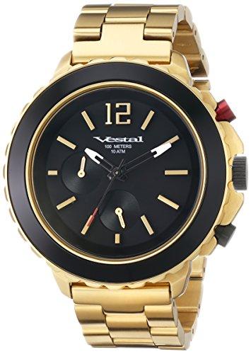 腕時計 ベスタル ヴェスタル メンズ YATCM03 【送料無料】Vestal Men's YATCM03 Yacht Metal Analog Display Japanese Quartz Gold Watch腕時計 ベスタル ヴェスタル メンズ YATCM03