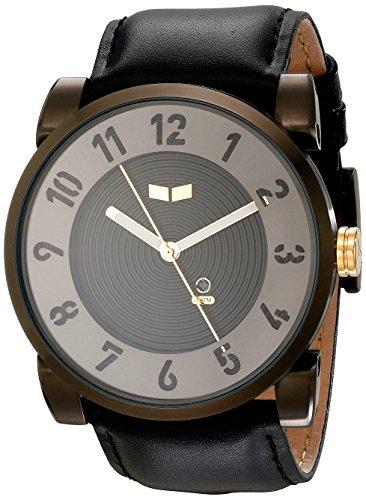 ベスタル ヴェスタル 腕時計 メンズ DOP015 Vestal Doppler Stainless Steel Japanese-Quartz Leather Calfskin Strap, Black, 30 Casual Watch (Model: DOP015)ベスタル ヴェスタル 腕時計 メンズ DOP015