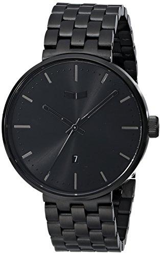 ベスタル ヴェスタル 腕時計 メンズ ROS3M002 【送料無料】Vestal Unisex ROS3M002 Roosevelt Metal Analog Display Analog Quartz Black Watchベスタル ヴェスタル 腕時計 メンズ ROS3M002