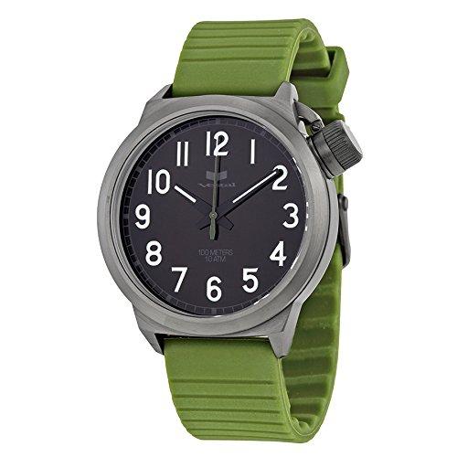 ベスタル ヴェスタル 腕時計 メンズ CTR3S03 Vestal Men's CTR3S03 Canteen Rubber Army Gunmetal Watchベスタル ヴェスタル 腕時計 メンズ CTR3S03