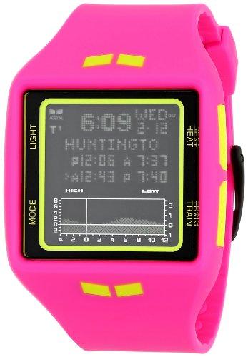 ベスタル ヴェスタル 腕時計 メンズ BRG019 Vestal Unisex BRG019 Brig Tide & Train Digital Display Quartz Pink Watchベスタル ヴェスタル 腕時計 メンズ BRG019