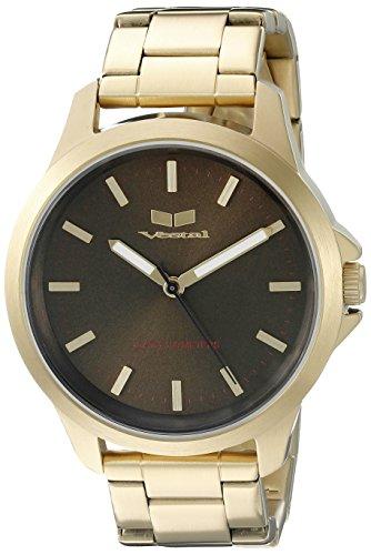 腕時計 ベスタル ヴェスタル メンズ HEI3M12 【送料無料】Vestal Unisex HEI3M12 Heirloom Analog Display Quartz Gold Watch腕時計 ベスタル ヴェスタル メンズ HEI3M12