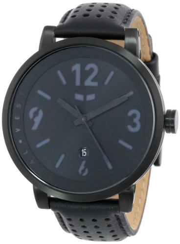 ベスタル ヴェスタル 腕時計 メンズ DPL001 Vestal Men's 'Doppler Slim' Quartz Stainless Steel and Leather Casual Watch, Color:Black (Model: DPL001ベスタル ヴェスタル 腕時計 メンズ DPL001