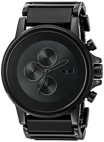ベスタル ヴェスタル 腕時計 メンズ PLA017 Vestal Men's PLA017 Plexi Minimalist Black Acetate Black Watchベスタル ヴェスタル 腕時計 メンズ PLA017