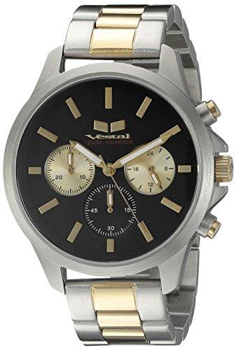 ベスタル ヴェスタル 腕時計 メンズ HEICM05 【送料無料】Vestal Unisex HEICM05 Heirloom Chrono Analog Display Quartz Silver Watchベスタル ヴェスタル 腕時計 メンズ HEICM05