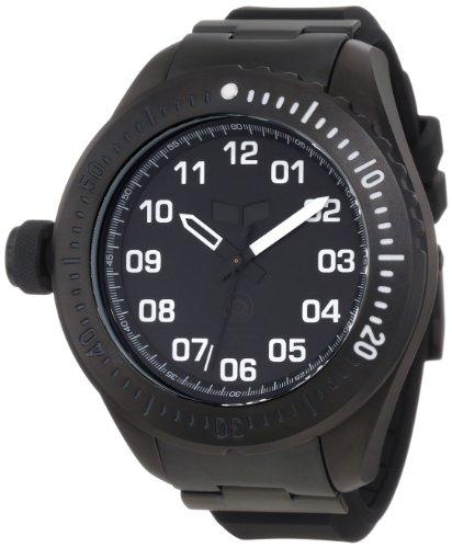 腕時計 ベスタル ヴェスタル メンズ ZR4001 【送料無料】Vestal Men's ZR4001 ZR-4 Diver Chrono Oversized Silicone Watch腕時計 ベスタル ヴェスタル メンズ ZR4001