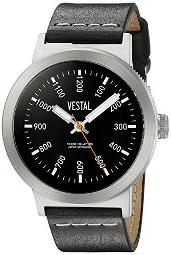 ベスタル ヴェスタル 腕時計 メンズ SLR3L002 【送料無料】Vestal Unisex SLR3L002 The Retrofocus Analog Display Quartz Black Watchベスタル ヴェスタル 腕時計 メンズ SLR3L002