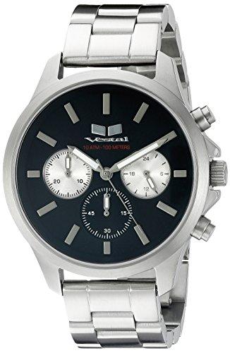 ベスタル ヴェスタル 腕時計 メンズ HEICM04 Vestal Unisex HEICM04 Heirloom Chrono Analog Display Quartz Silver Watchベスタル ヴェスタル 腕時計 メンズ HEICM04