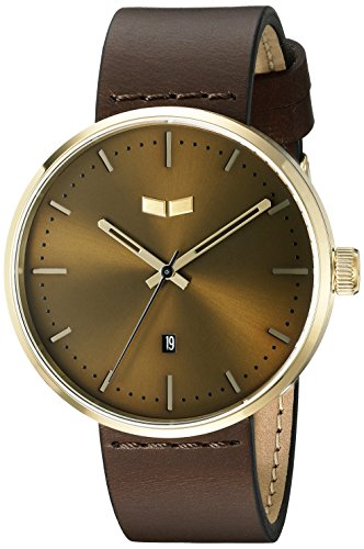 ベスタル ヴェスタル 腕時計 メンズ RST3L04 【送料無料】Vestal Unisex RST3L04 Roosevelt Leather Analog Display Quartz Brown Watchベスタル ヴェスタル 腕時計 メンズ RST3L04