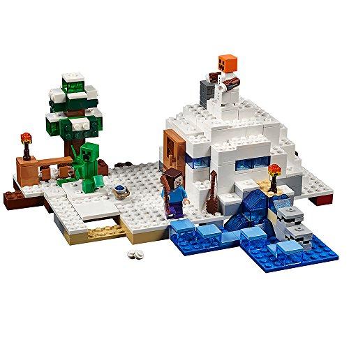 レゴ マインクラフト 6102223 LEGO Minecraft The Snow Hideout 21120 Minecraft Toyレゴ マインクラフト 6102223, スポーツゴリラ 6644c688