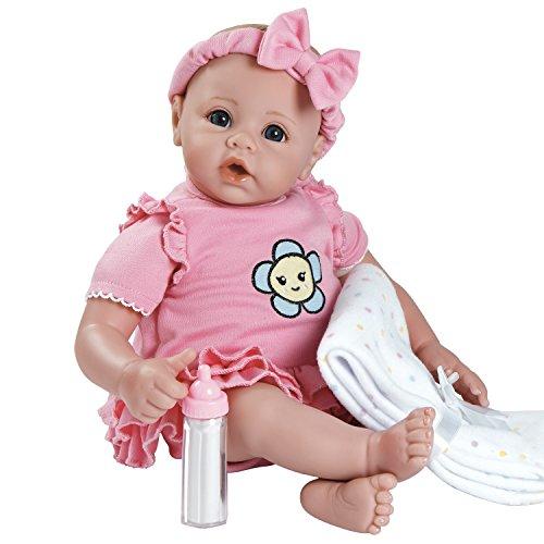 アドラベビードール 赤ちゃん リアル 本物そっくり おままごと 20103013 Adora BabyTime Pink 16