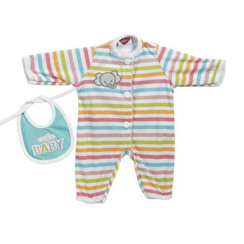 アドラベビードール 赤ちゃん リアル 本物そっくり おままごと 20153006 Adora Giggle Time Baby Doll Stripe Elephant Outfitアドラベビードール 赤ちゃん リアル 本物そっくり おままごと 20153006