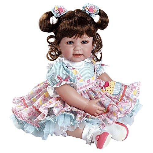アドラベビードール 赤ちゃん リアル 本物そっくり おままごと 20015005 Adora Toddler Piece of Cake 20