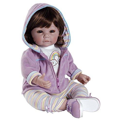 アドラベビードール 赤ちゃん リアル 本物そっくり おままごと 20015001 Adora Toddler Rainbow Sherbet 20