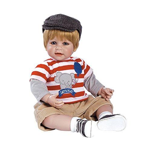 注目 アドラベビードール 赤ちゃん Body 6+ リアル Cuddly 本物そっくり おままごと 20014022 Adora Toddler Let's Play 20