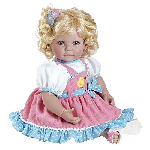 アドラベビードール 赤ちゃん リアル 本物そっくり おままごと 20015003 Adora Toddler Chick Chat 20