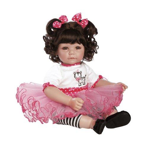 アドラベビードール 赤ちゃん リアル 本物そっくり おままごと 20014004 Adora Toddler Zippy Zebra 20