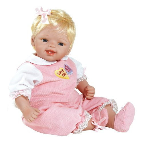 パラダイスギャラリーズ 赤ちゃん リアル 本物そっくり おままごと Valentine Doll, My Silly Valentine, 19-inch GentleTouch Vinyl with Weighted Bodyパラダイスギャラリーズ 赤ちゃん リアル 本物そっくり おままごと