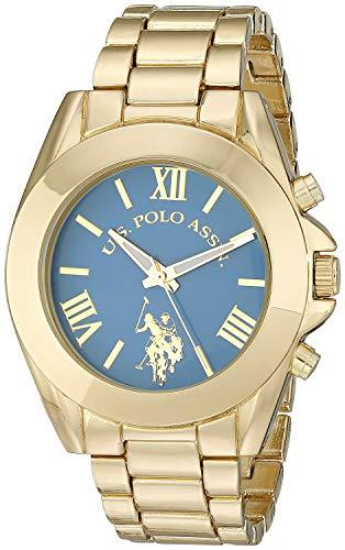 ユーエスポロアッスン 腕時計 レディース USC40048 【送料無料】U.S. Polo Assn. Women's USC40048 Gold-Tone Bracelet Watchユーエスポロアッスン 腕時計 レディース USC40048