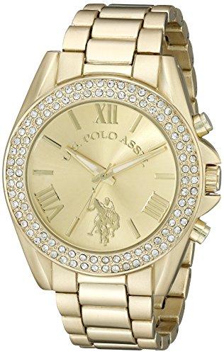 ユーエスポロアッスン 腕時計 レディース USC40036 【送料無料】U.S. Polo Assn. Women's USC40036 Gold-Tone Watchユーエスポロアッスン 腕時計 レディース USC40036