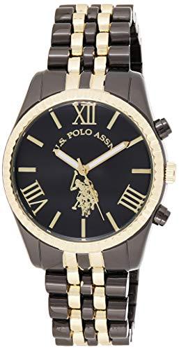 ユーエスポロアッスン 腕時計 レディース USC40059 【送料無料】U.S. Polo Assn. Women's USC40059 Two-Tone Bracelet Watchユーエスポロアッスン 腕時計 レディース USC40059