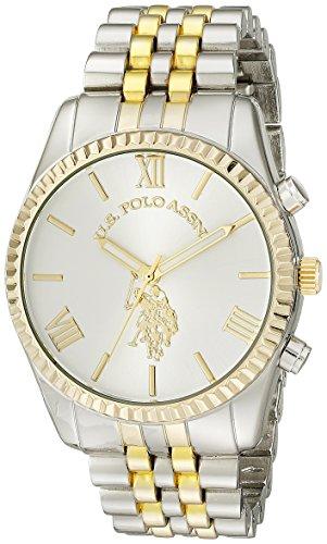 腕時計 ユーエスポロアッスン レディース USC40057 【送料無料】U.S. Polo Assn. Women's USC40057 Two-Tone Bracelet Watch腕時計 ユーエスポロアッスン レディース USC40057