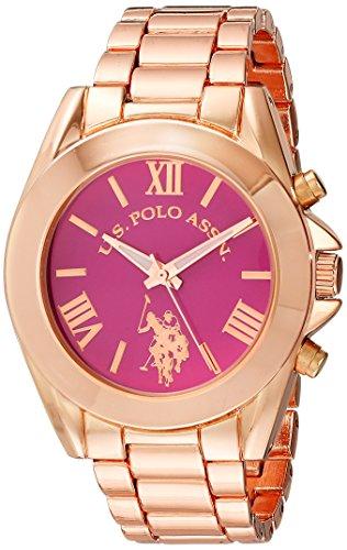 ユーエスポロアッスン 腕時計 レディース USC40049 【送料無料】U.S. Polo Assn. Women's USC40049 Rose Gold-Tone Watchユーエスポロアッスン 腕時計 レディース USC40049