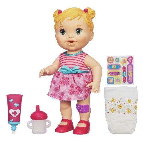 ベビーアライブ 赤ちゃん おままごと ベビー人形 A5390 Baby Alive Baby Gets a Boo Boo - Blondeベビーアライブ 赤ちゃん おままごと ベビー人形 A5390