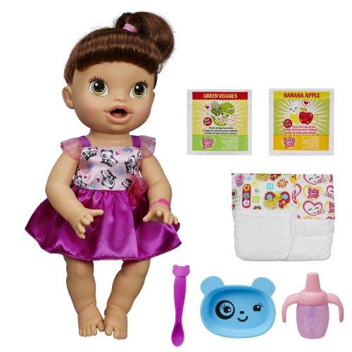 ベビーアライブ 赤ちゃん おままごと ベビー人形 A8346 Baby Alive My Baby All Gone Doll, Brunette (Discontinued by manufacturer)ベビーアライブ 赤ちゃん おままごと ベビー人形 A8346