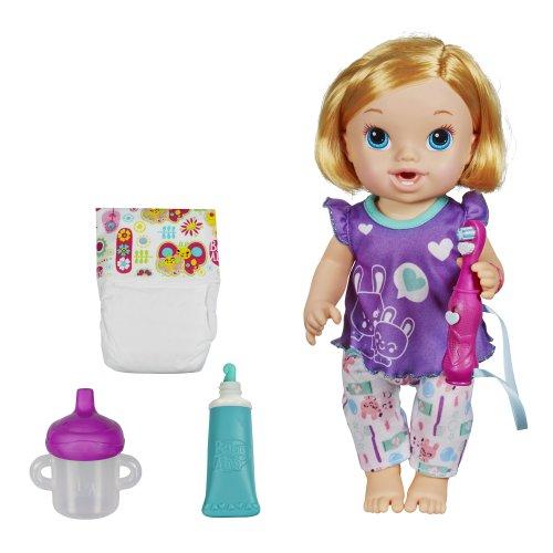 ベビーアライブ 赤ちゃん おままごと ベビー人形 A8348 Baby Alive Brushy Brushy Baby Doll - Blondeベビーアライブ 赤ちゃん おままごと ベビー人形 A8348