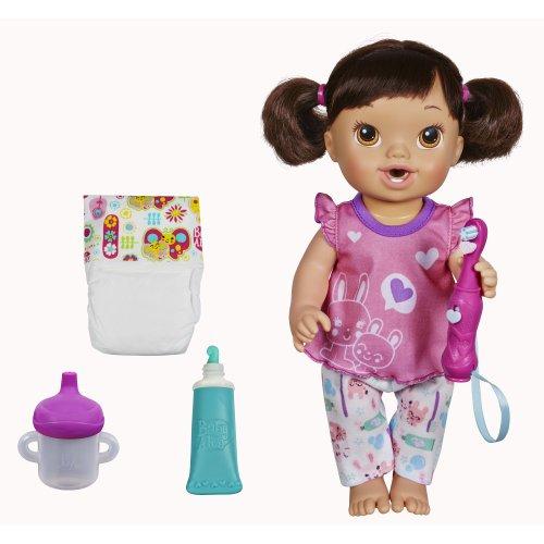 ベビーアライブ 赤ちゃん おままごと ベビー人形 A8349 Baby Alive Brushy Brushy Baby Doll - Brunetteベビーアライブ 赤ちゃん おままごと ベビー人形 A8349