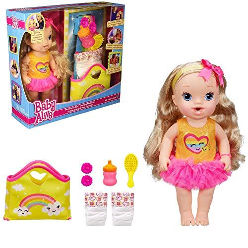 Hair おままごと ベビーアライブ ベビー人形 B3099 Blonde 赤ちゃん Darcis ベビー人形 Baby Dance Dollベビーアライブ Class B3099 Alive おままごと 赤ちゃん