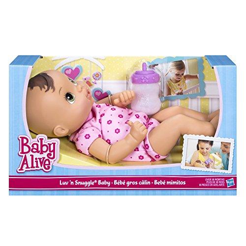 超爆安  ベビーアライブ 赤ちゃん おままごと ベビー人形 ベビー人形 ベビー人形 赤ちゃん A5842221 Baby Alive Luv n Snuggle Baby Doll Brunetteベビーアライブ 赤ちゃん おままごと ベビー人形 A5842221, ピノノワールオンライン:d563d46b --- canoncity.azurewebsites.net