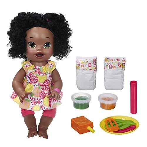 B0635 African Snacks Americanベビーアライブ おままごと ベビー人形 赤ちゃん Baby おままごと ベビーアライブ Super B0635 Sara Alive 赤ちゃん Snackin' ベビー人形