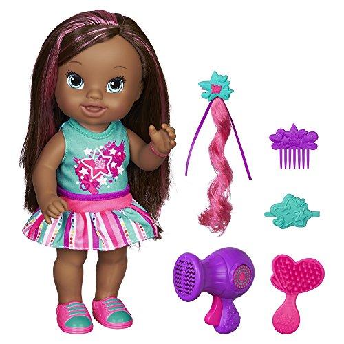 ベビーアライブ 赤ちゃん おままごと ベビー人形 B1450 Baby Alive Play 'n Style Christina Doll (African American)ベビーアライブ 赤ちゃん おままごと ベビー人形 B1450