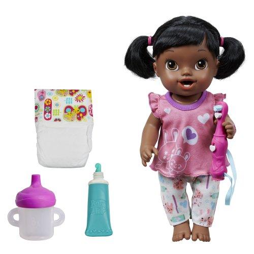 ベビーアライブ 赤ちゃん おままごと ベビー人形 A9371 Baby Alive Brushy Brushy Baby Doll - African Americanベビーアライブ 赤ちゃん おままごと ベビー人形 A9371