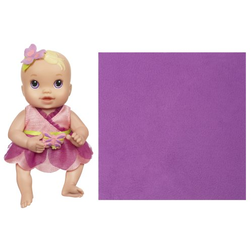 ベビーアライブ 赤ちゃん おままごと ベビー人形 A2149 Baby Alive Kicks and Cuddles Newborns Doll - Caucasian Lavender Eyes, 6-Inchベビーアライブ 赤ちゃん おままごと ベビー人形 A2149
