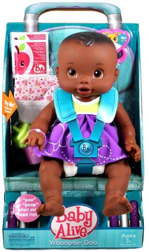 ベビーアライブ 赤ちゃん おままごと ベビー人形 19227 Baby Alive Whoopsie Doo - African Americanベビーアライブ 赤ちゃん おままごと ベビー人形 19227