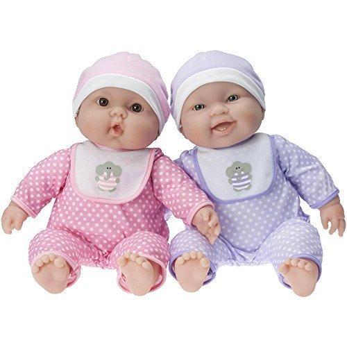 ジェーシートイズ 赤ちゃん おままごと ベビー人形 JC Toys Lots To Cuddle Babies Twin Dolls Designed by Berenguerジェーシートイズ 赤ちゃん おままごと ベビー人形