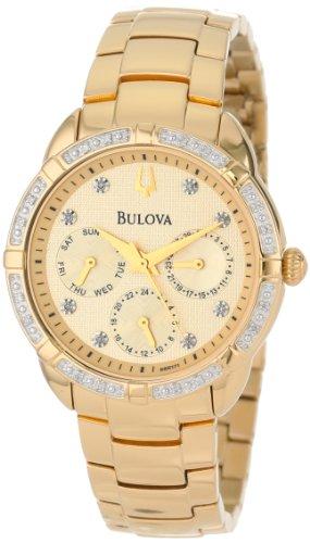 ブローバ 腕時計 レディース 98R171 【送料無料】Bulova Women's 98R171 Diamond Set Case Watchブローバ 腕時計 レディース 98R171