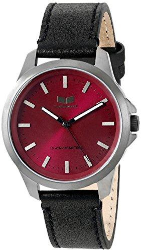 ベスタル ヴェスタル 腕時計 メンズ HER3L05 Vestal Men's HER3L05 Heirloom Leather Analog Display Japanese Quartz Black Watchベスタル ヴェスタル 腕時計 メンズ HER3L05
