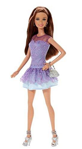 バービー バービー人形 日本未発売 BLT11 【送料無料】Fashionista Teresa Doll, Purple Lace Dressバービー バービー人形 日本未発売 BLT11