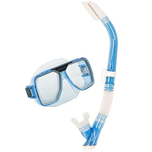 シュノーケリング マリンスポーツ UC-5019-CLB TUSA Sport Adult Liberator Mask and Snorkel Combo, Clear Blueシュノーケリング マリンスポーツ UC-5019-CLB