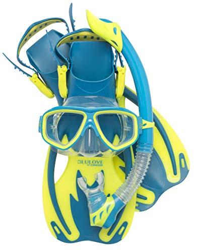 シュノーケリング マリンスポーツ USK060202B Cressi Rocks Kids Set, cool blue, S/Mシュノーケリング マリンスポーツ USK060202B